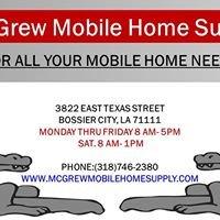 Mcgrew Mobile Home Supply