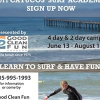 Cayucos Surf Academy at Good Clean Fun