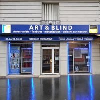 ART and BLIND décoration