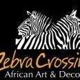 Zebra Crossing African Art & Decor