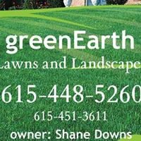 GreenEarth Lawns and Landscapes, Owner- Shane Downs & Ashley Downs