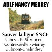 Sauver la ligne SNCF Nancy - Mirecourt - Vittel - Contrexéville - Merrey
