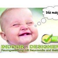 Indoor Designer.de  Raumgestaltung mit Flüssigtapete
