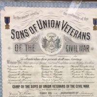David Porter Camp 116 Sons of Union Veterans of the Civil War