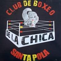 Club de boxeo De la chica Santa Pola