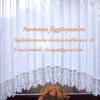 Harmónia függönyszalon
