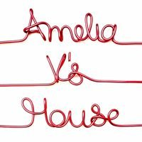 Amelia V's House - Personalised Coat hangers & Wire Art