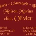 "Boucherie Marius "" chez olivier """