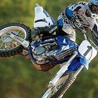 Moto cross riding