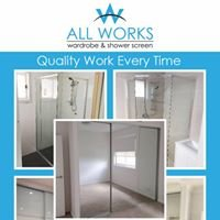 Allworks wardrobes and shower screens