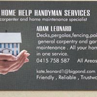 Adams Home Help Handyman Services