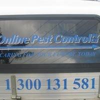 Online pest control