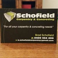 Schofield Carpentry & Concreting