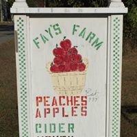 Fay's Farm & Orchard