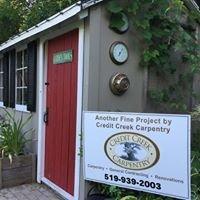 Credit Creek Carpentry