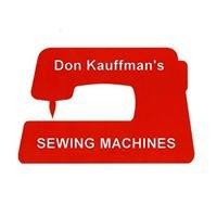 Don Kauffman Sewing Machines