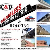C&D seamless gutters