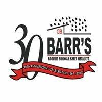 BARR's Roofing, Siding & Sheet Metal Ltd.