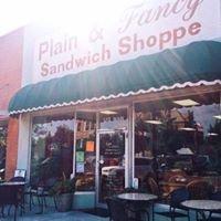 Plain and Fancy Sandwich Shoppe