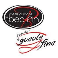 Restaurant Le Bec Fin - Resto-bar La Gueule Fine