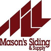 Mason's Siding & Supply, Inc