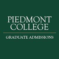 Piedmont College Graduate Admissions