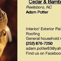 Cedar and Bamboo Products