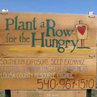 Plant a Row for the Hungry in Louisa, VA