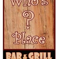 Who's Place Bar and Grill