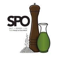 Salt Pepper & Oil