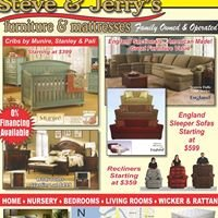 Steve & Jerry's Furniture & Mattresses