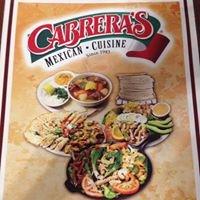 Cabrera's Mexican Cuisine