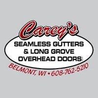 Carey's Seamless Gutters & Long Grove Overhead Doors, LLC