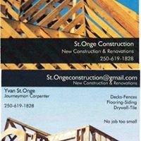 St. Onge Construction - Yvan St.Onge, Journeyman Carpenter