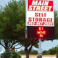 MAIN Street SELF Storage
