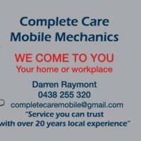 Complete Care Mobile Mechanics