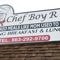 Chef Boy R G's