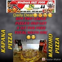 Windhoek Wood Fired Pizza's and Dial-A-Kapana International
