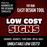Low Cost Signs