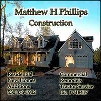 Matthew H Phillips Construction