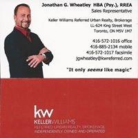 Jonathan G. Wheatley:  HBA Psy.; RREA