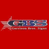Garrison Bros. Signs