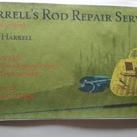 Harrell's Fishing Rod Repair Service and Custom Rods and Guide Service.