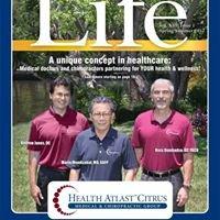 Health Atlast Citrus Crystal River Florida