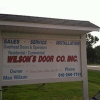 Wilson's Door Company, Inc.