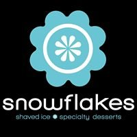 Snowflakes Shaved Ice