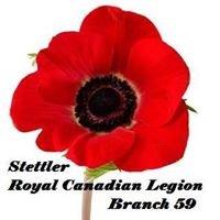 Stettler Royal Canadian Legion Branch 59