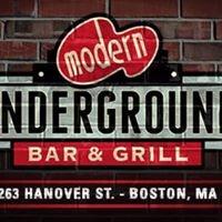 Modern Underground Bar and Grill