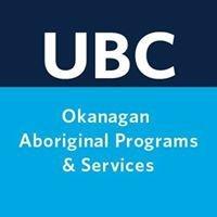 UBC Okanagan Aboriginal Programs & Services