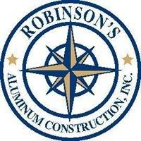 Robinson's Aluminum Construction, Inc